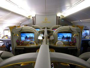Авіаквитки 1 клас Еміратес