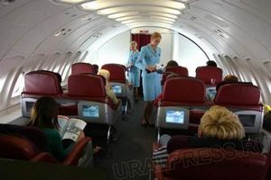 Квитки на літак на борту