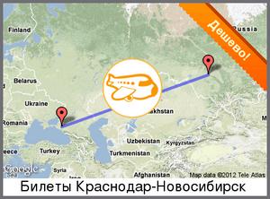 Квитки на літак з Новосибірська