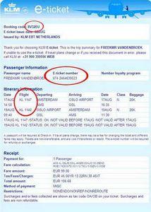 Електронний квиток на літак аерофлот