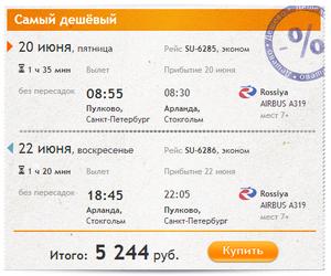 Оплата авіаквитків через евросеть
