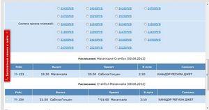 Скільки коштує квиток до Махачкали